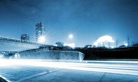 Nuit de ville Images libres de droits