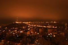 Nuit de ville Photos libres de droits