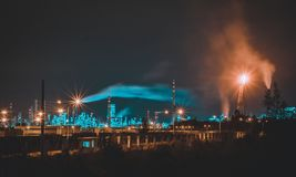 Nuit de ville images stock