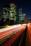 nuit de visibilité directe d'Angeles Photographie stock libre de droits