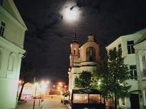 Nuit de Vitebsk Images stock