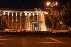 Nuit Donetsk Image libre de droits