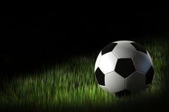 Nuit du football Photographie stock libre de droits