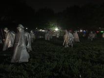 Nuit du Lincoln Memorial de Washington DC Photographie stock libre de droits