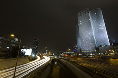 Nuit dynamique Image libre de droits