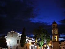 Nuit espagnole photo stock