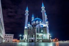 Nuit Kazan Photographie stock libre de droits