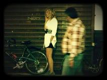 Nuit à l'extérieur Photographie stock