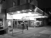 Nuit lente aux films Photographie stock libre de droits