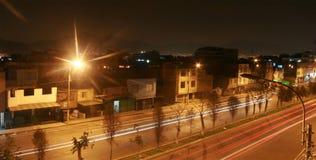 Nuit Lima Photo libre de droits