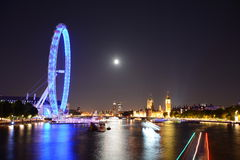 Nuit Londres photos stock