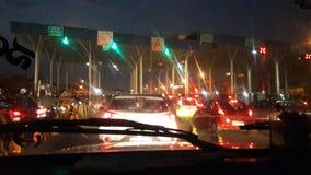 Nuit occupée Photo libre de droits