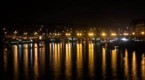 Nuit Prague Photographie stock libre de droits