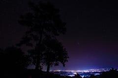 Nuit rêveuse Images libres de droits