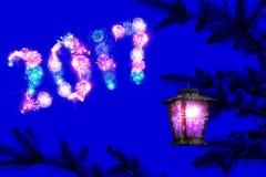 Nuit rêveuse de vacances Image stock