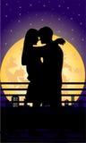 Nuit romantique Illustration de Vecteur