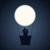Nuit romantique Photos stock