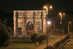 Nuit Rome Photographie stock