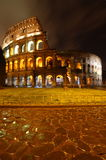 nuit Rome de colosseo Photo stock