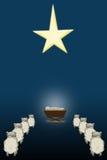 Nuit sainte Illustration de Vecteur