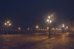 Nuit scénique à Venise Italie Photo libre de droits