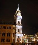 Nuit St Petersburg photos libres de droits