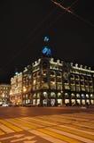Nuit St Petersburg images libres de droits