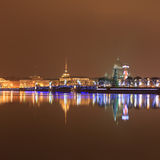 Nuit St Petersburg Photo libre de droits