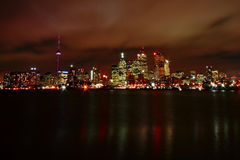 nuit Toronto Photographie stock