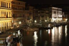 Nuit Venise image stock
