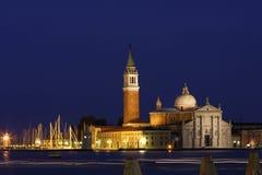 nuit Venise Images libres de droits