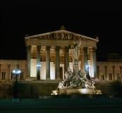 nuit Vienne photo libre de droits