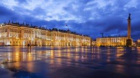 Nuits blanches à St Petersburg Images libres de droits