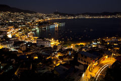 Nuits d'Acapulco Photo stock