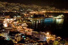 nuits d'acapulco Photographie stock