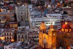 Nuits de Guanajuato. Images stock