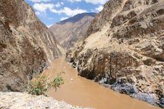 Nujiang canyon Stock Image