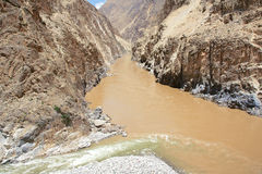 Nujiang River Royalty Free Stock Photo