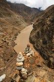 Nujiang-stupa Stockbild