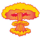 Nuke Explosion Stock Photo
