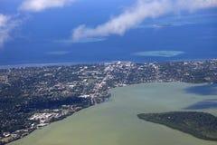 Nuku'alofa aéreo Imagem de Stock