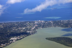 Nuku'alofa aéreo Imagen de archivo