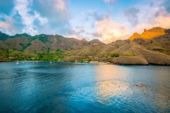 Nuku Hiva, French Polynesia. Stock Photo