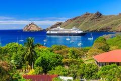 Nuku Hiva, islas de Marquesas fotos de archivo
