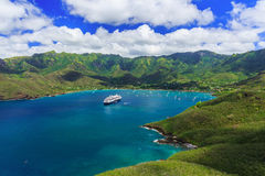 Nuku Hiva, Marquesas Islands. Royalty Free Stock Image