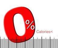 Nul calorieën Royalty-vrije Stock Afbeeldingen