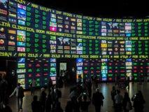 Nul paviljoen in EXPO, de wereldexpositie Stock Afbeelding