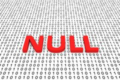 NULL Royalty Free Stock Image