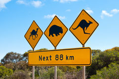 Nullarbor Royalty Free Stock Photos
