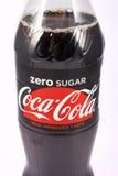Nullsugar coca cola Stockfotografie